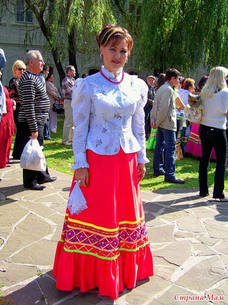 Костюм казачки - Страна Мам Донская Казачка Костюм
