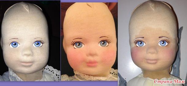 Реставрация куклы Глорекс GLOREX