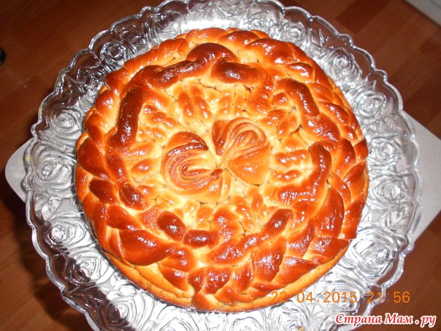 Оформление яблочных пирогов
