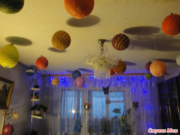 Вяжем шары.