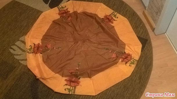 Сумки-авоськи из старых зонтиков