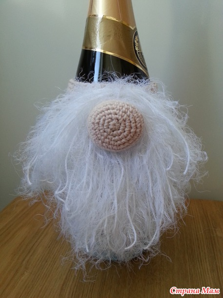 МК Гном (декор бутылки шампанского)