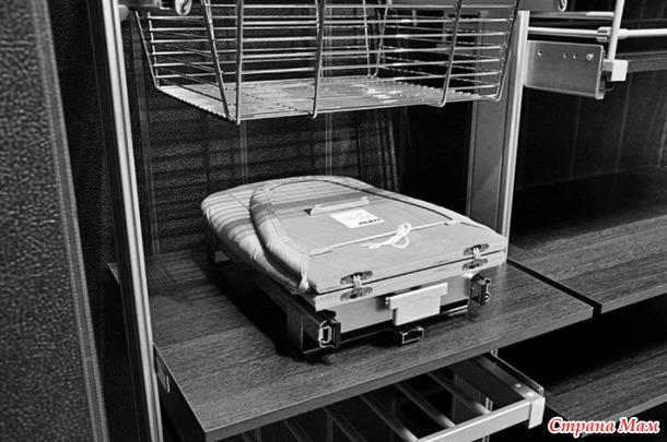 Где вы храните гладильную доску?