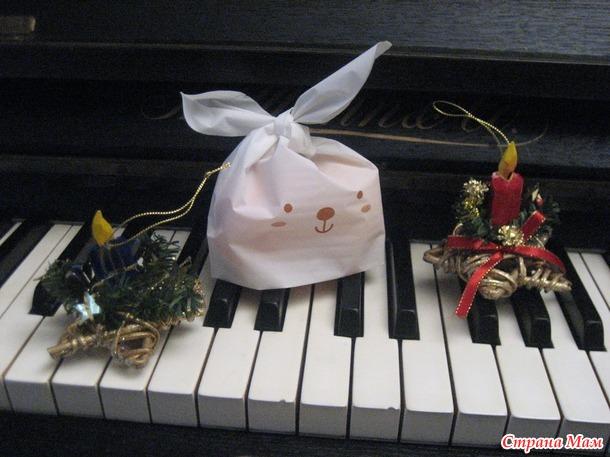 Подарочный Пакет (ну настоящий зайчик!) купленный на Али +