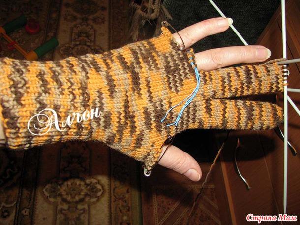 Вязание перчаток