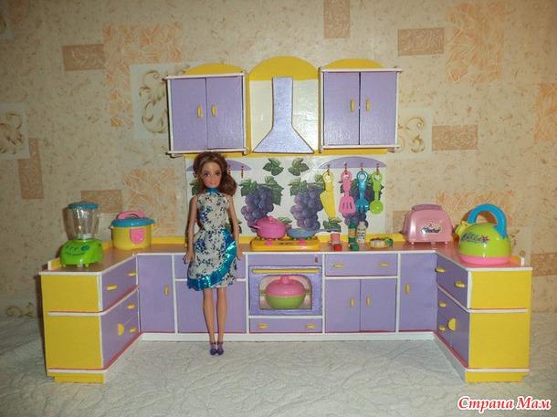 Кукольная кухня своими руками фото 999