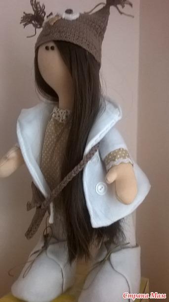 Кукла снежка мастер класс своими руками 643