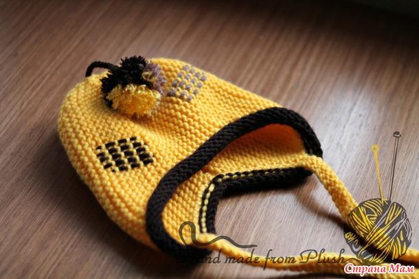 размеры детской шапочки для вязания