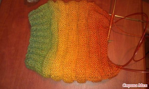 Схемы вязания гетр спицами