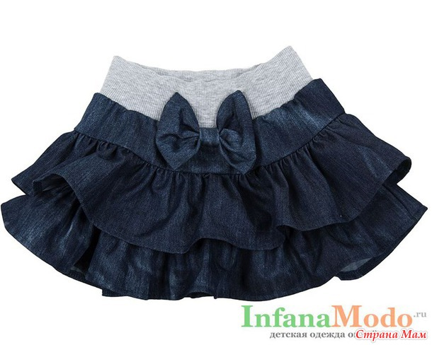 Помогите найти выкройку юбки с воланами для девочки