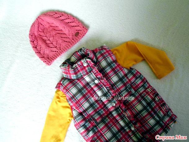 Детская шапка «Весенний ажур». Авторская работа + описание
