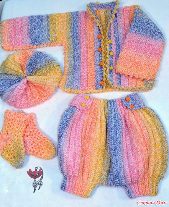 Страна мам вязание в картинках