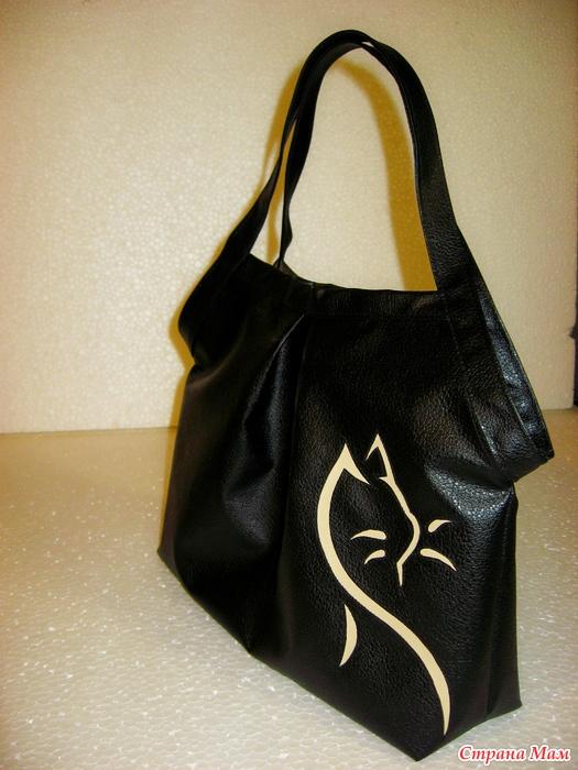 a2e8f5eba9af Простая сумочка из кожзама с вариантами аппликаций - Сумки &Co ...