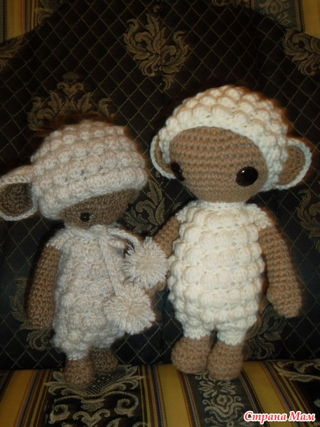 Мини овечки ЛУПО и описание)))