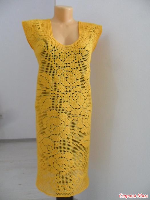 f3206f38508 Филейное платье