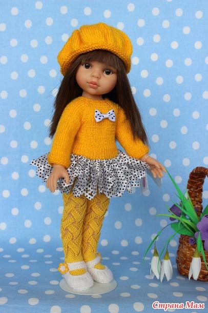 Одежда для куклы своими руками вязание 503