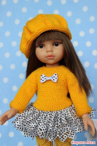 Одежда для куклы своими руками вязание 117