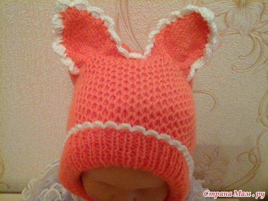 сос сос подклад для вязаной шапки вязание для детей страна мам