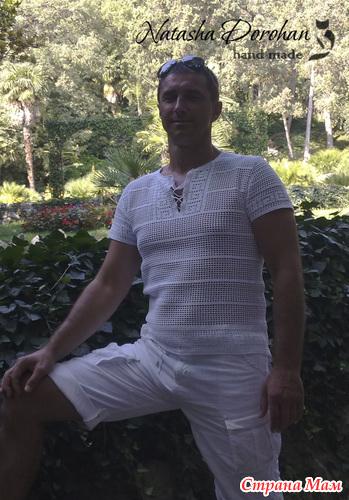 Майка мужская фото крючком