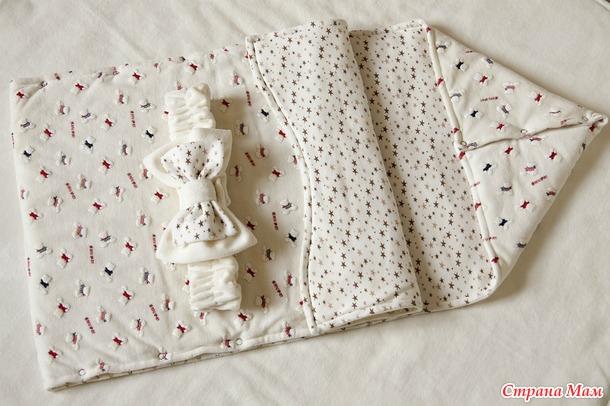 Ползунки для новорожденных своими руками 901