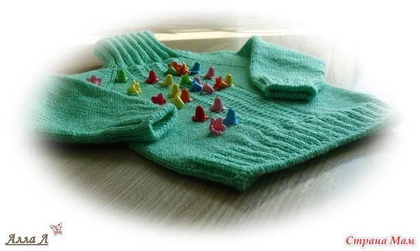Простые свитерочки для сыночка и дочки
