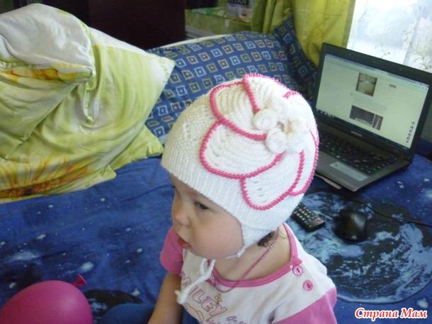 Наша весенняя шапочка