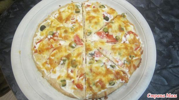 Пицца мясная...