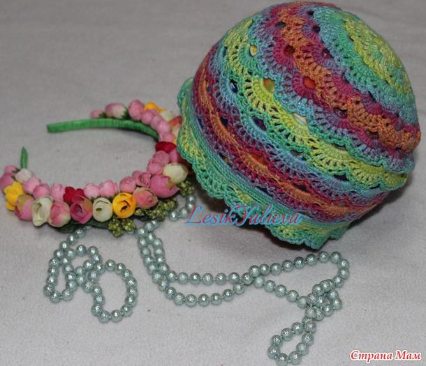 Разноцветное лето, шапули для дочуры