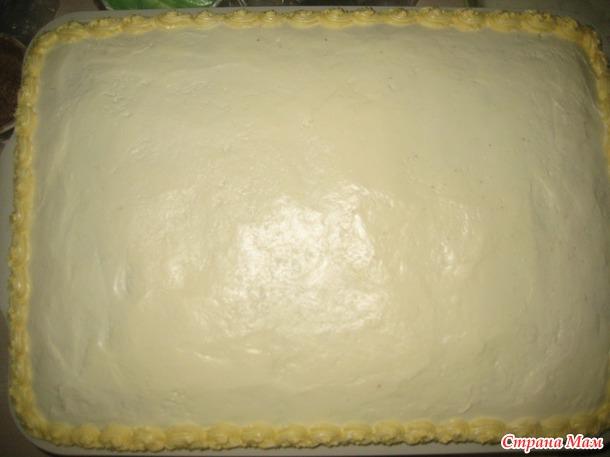 Обещанный мастер класс по торту раскраске.