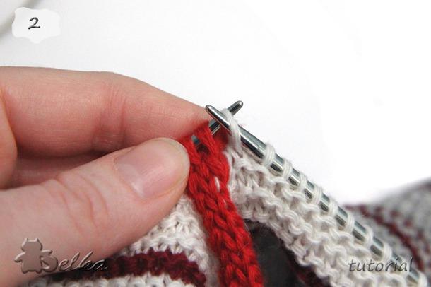 .I-cord. Метод соединения вязаных деталей и обвязки края