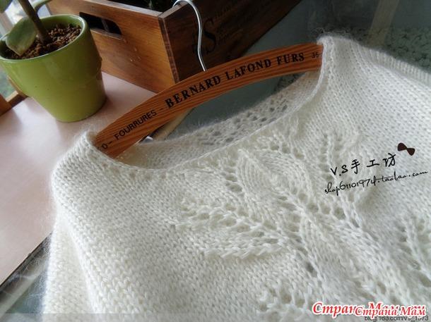 Опрос по вязанию белой туники. По стопам китайских рукодельниц.