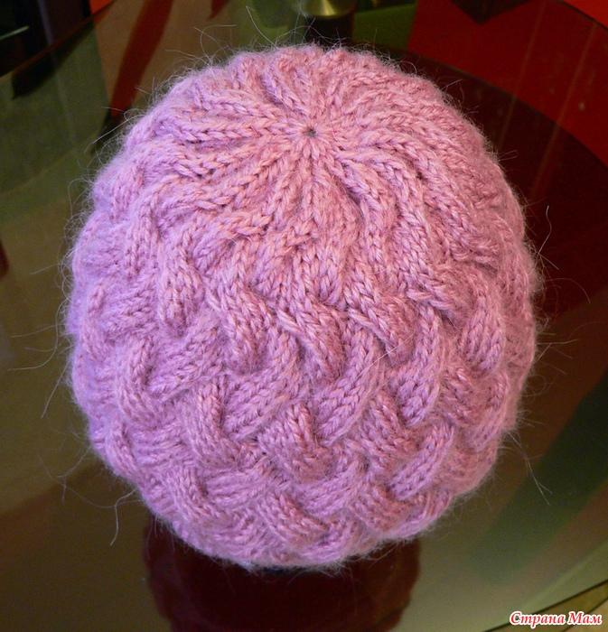 Азбука вязания: Страна Мам Вязание Спицами Шапки