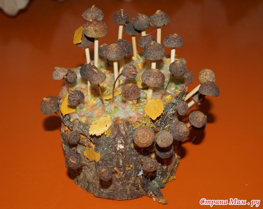 Детские поделки из природных материалов для садика 124