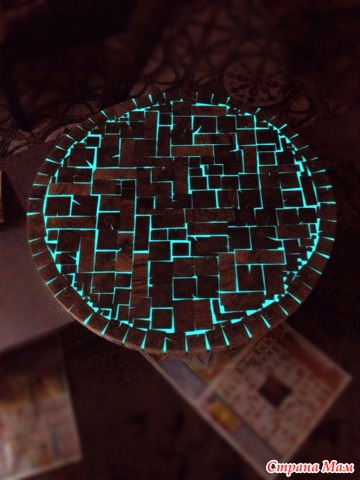 светящийся стол своими руками фото густой кроны декоративной