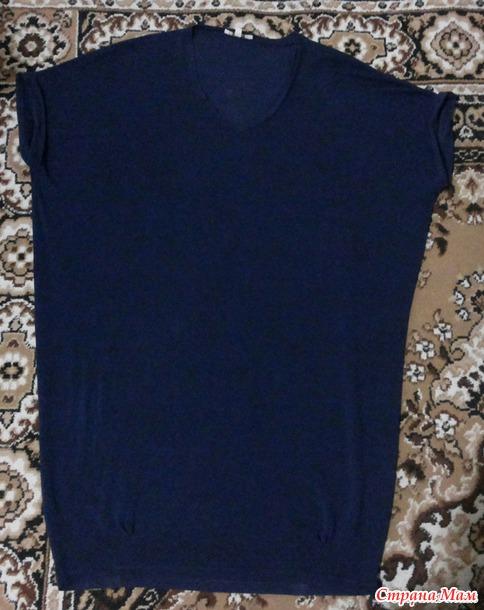 Платье - свитер свободного кроя