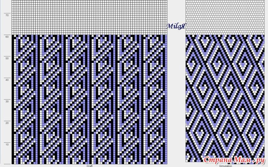 вязание бисером очечников