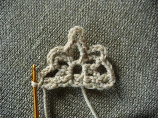 """Цветы на волнах"" - роскошная шаль крючком."