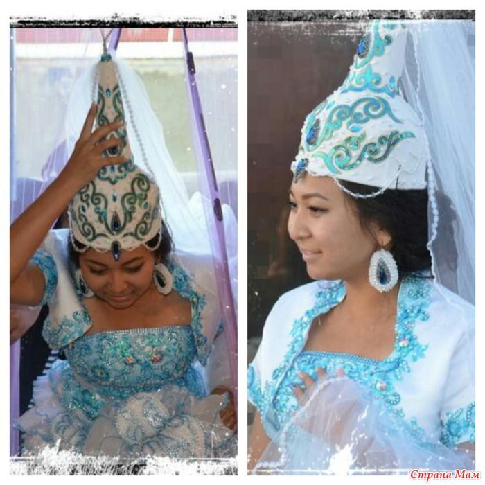 головные выкройка казахские уборы