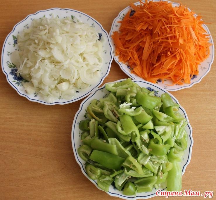 лечо на зиму без уксуса с луком и морковью