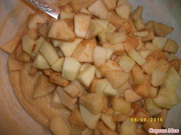 Яблочные ежики