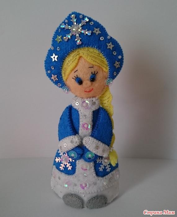 Как сделать снегурочку из куклы своими руками фото 101
