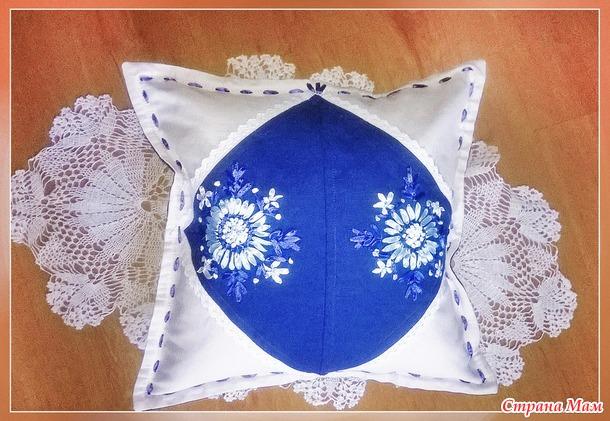 Продается. Декоративная льняная подушка. Украина.250 грн.