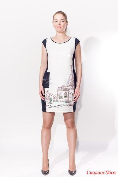 a255b0f0205 Платье-футляр 3005 1 черное ( Блуза-шоп) - 1300 руб размер 54 ( маломерит