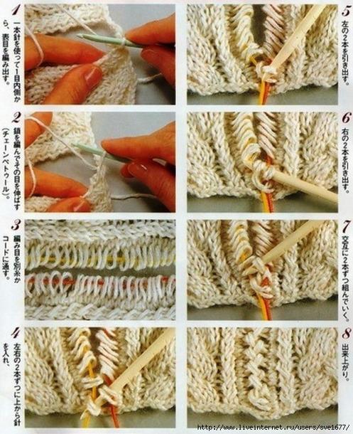 . Вязание больших размеров