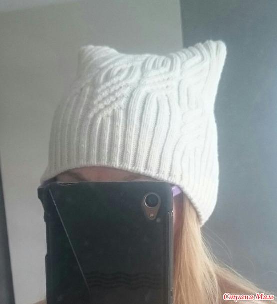 Простая шапочка.