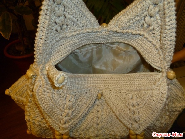 МК вязания летней сумки крючком