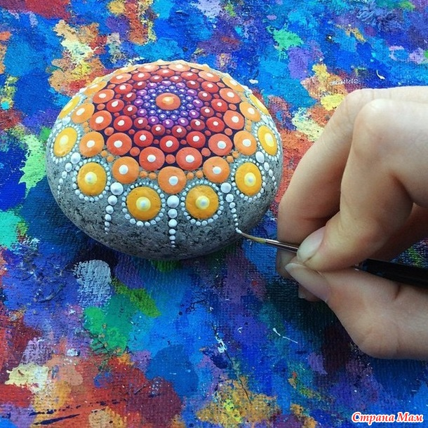 Рисунок в круге, мандала, как способ психотерапии души.