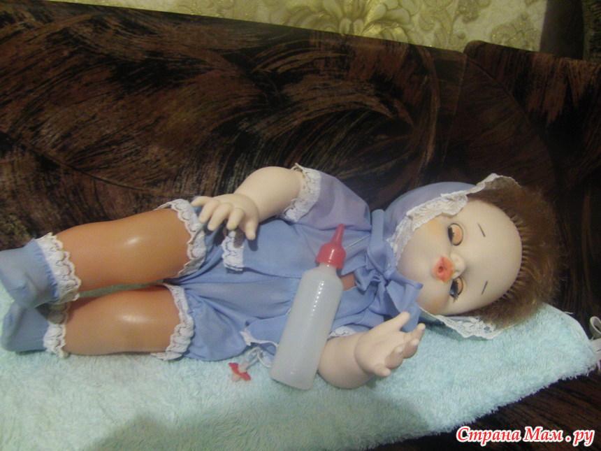 Картинка болеющей куклы