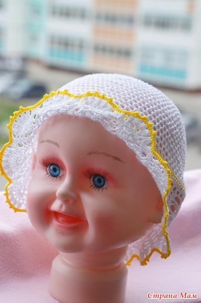 шапочки для малышей