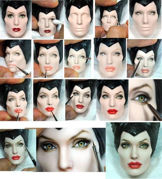 Реалистичные портретные куклы знаменитостей (OOAK)